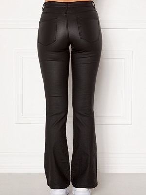 Pieces Roxy Flared MW Coated Pants