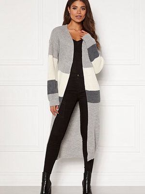 Girl In Mind Cara Panelled Longline Cardigan