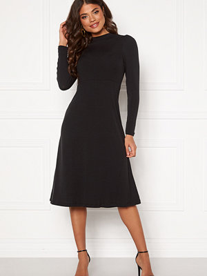 Happy Holly Tilda puffsleeve dress Black