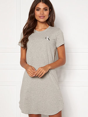 Pyjamas & myskläder - Calvin Klein S/S Nightshirt 020 Grey Heather