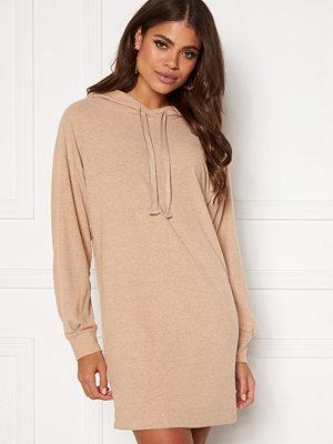 Only Zoe L/S Sweat Dress Beige