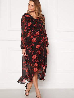 Happy Holly Rianna dress Black / Patterned