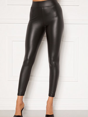 Happy Holly Alicia coated leggings Black