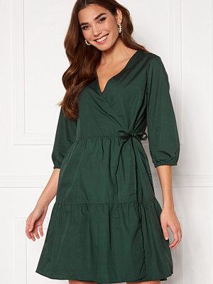 Object Schinni L/S Wrap Dress