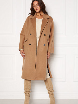 Selected Femme Element Wool Coat Tigers Eye