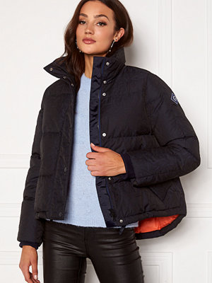 Gant Jacquard Gant Word Down Jacket