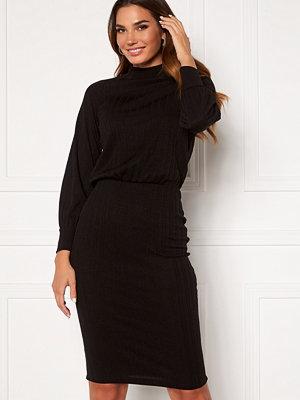 Happy Holly Stella Turtleneck dress Black