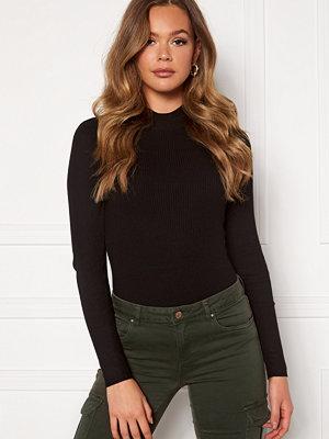 Jdy Newmaryan L/S Highneck Pullover Knit Black