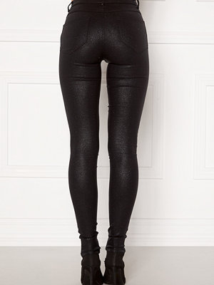 Vila Commit Glitter Coat Jeans