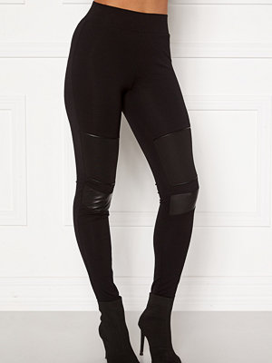 Happy Holly Allison biker leggings Black