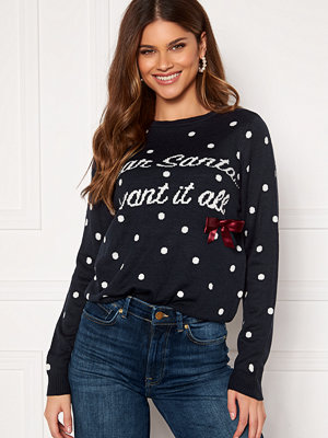 Only Xmas Bow L/S Pullover