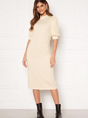 Vila Many 2/4 Sleeve Medi Dress Birch