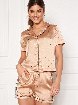 Vero Moda Fanni S/S Nightwear Set Nougat
