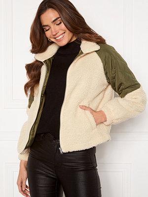 Jacqueline de Yong Zia Teddy Mix Jacket