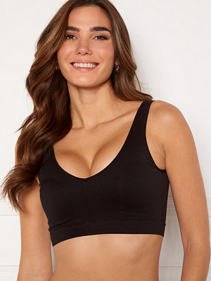Pieces Symmi Rib Bra Top 2-Pack