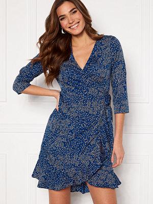 Vero Moda Henna 3/4 Wrap Dress Sodalite Blue