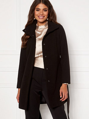 Martine Lunde X Bubbleroom Wide belt coat