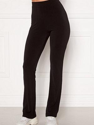 Bubbleroom svarta byxor Ari comfy suit trousers