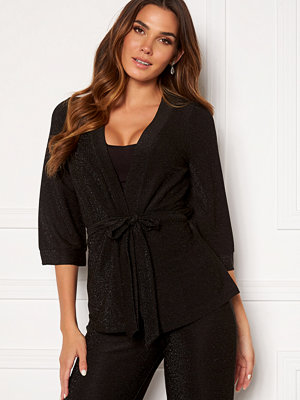 Happy Holly Estelle lurex kimono jacket