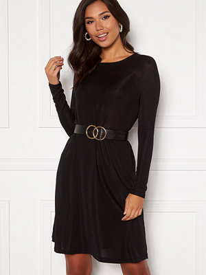 Vero Moda Sparkle L/S Dress Black lurex
