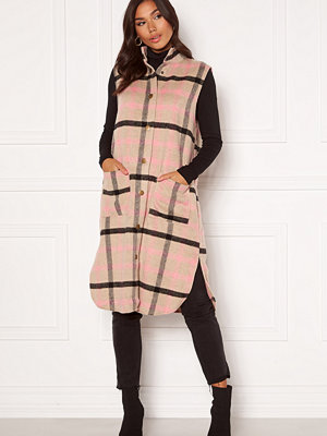 Sisters Point Elvo Vest 206 Sand/Pink check