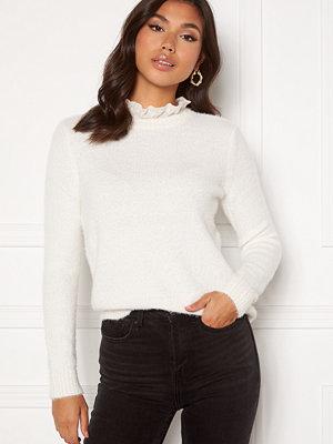 Vila Feami Knit Lace L/S Top