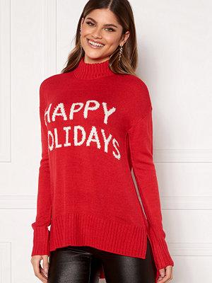 Vero Moda Holidays Long H/L Highneck Blouse