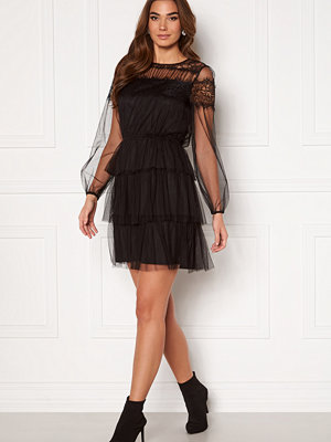 Happy Holly Smilla ls mesh dress