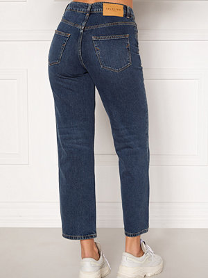 Selected Femme Kate HW Stright Inky Jeans