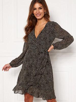 Sisters Point Greto Dress 001 Black/Brown/Grey