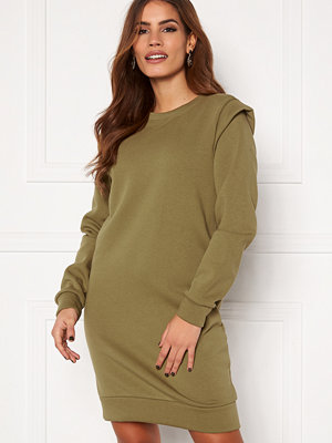 Pieces Nippy LS Long Sweat Martini Olive
