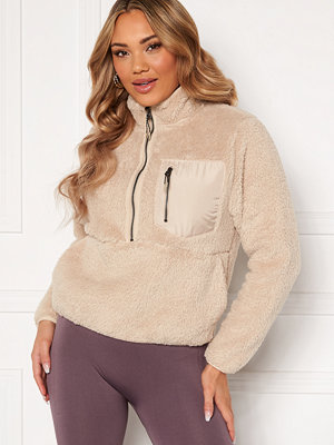 Only Dalina L/S 1/2 Zip Teddy Swt
