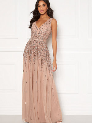 Goddiva Sunray Sequin Maxi Gown