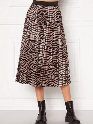 Vila Nitban Print Skirt Nomad Zebra