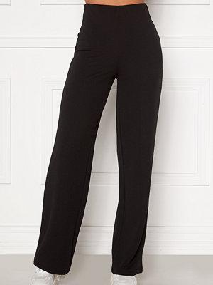 Bubbleroom svarta byxor Petronella trousers Black