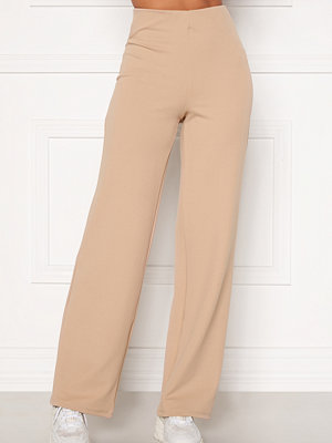 Bubbleroom Petronella trousers Beige byxor