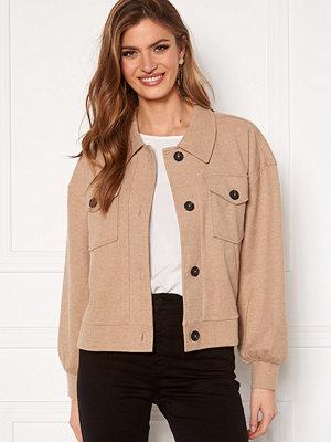 Vero Moda Asha L/S Overshirt Jacket Silver Mink