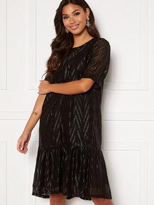 Sisters Point Ekla Dress 003 Black/Lurex