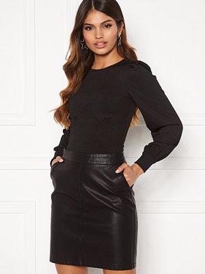 Chiara Forthi Appoline corsette top Black