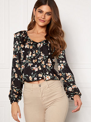 Happy Holly Ruth top Black