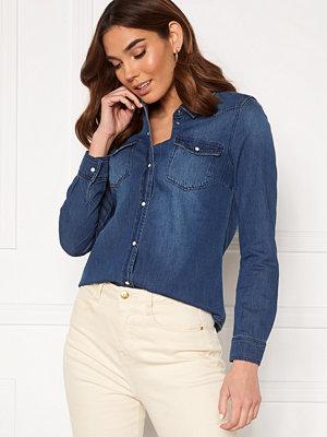 Vero Moda Maria LS Denim Slim Shirt