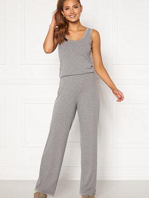 Bubbleroom Lou lace pyjama set  Grey melange