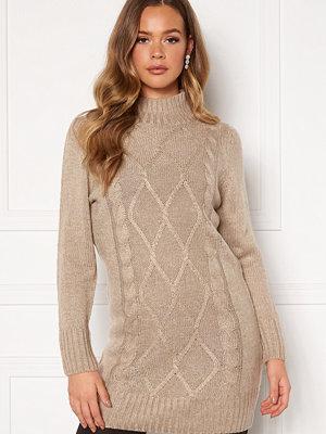 Happy Holly Arabella sweater dress Light beige