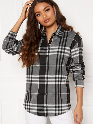 Bubbleroom Cleo checked overshirt