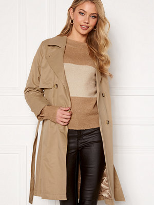 Selected Femme Weka Trenchcoat Cornstalk
