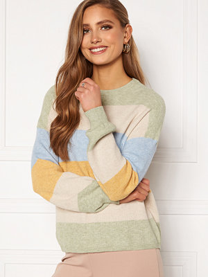 Only Atia L/S Stripe Pullover Knt