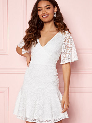 Bubbleroom Starla Lace Dress White