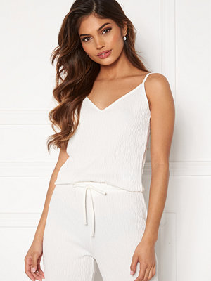 Bubbleroom Lynne soft pyjama top White