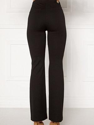 Chiara Forthi svarta byxor Christel slited pants
