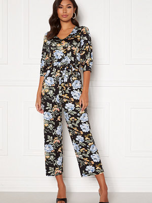 Jumpsuits & playsuits - Happy Holly Tova puff v-neck jumpsuit